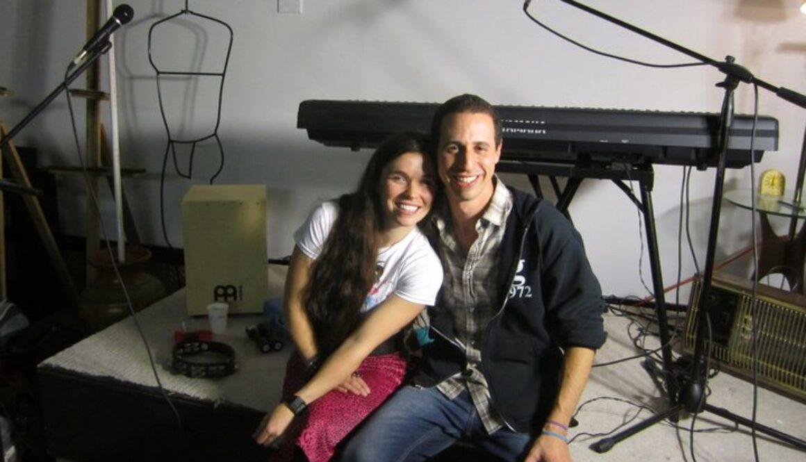 Avi Wisnia and Jennings April 2011 tour