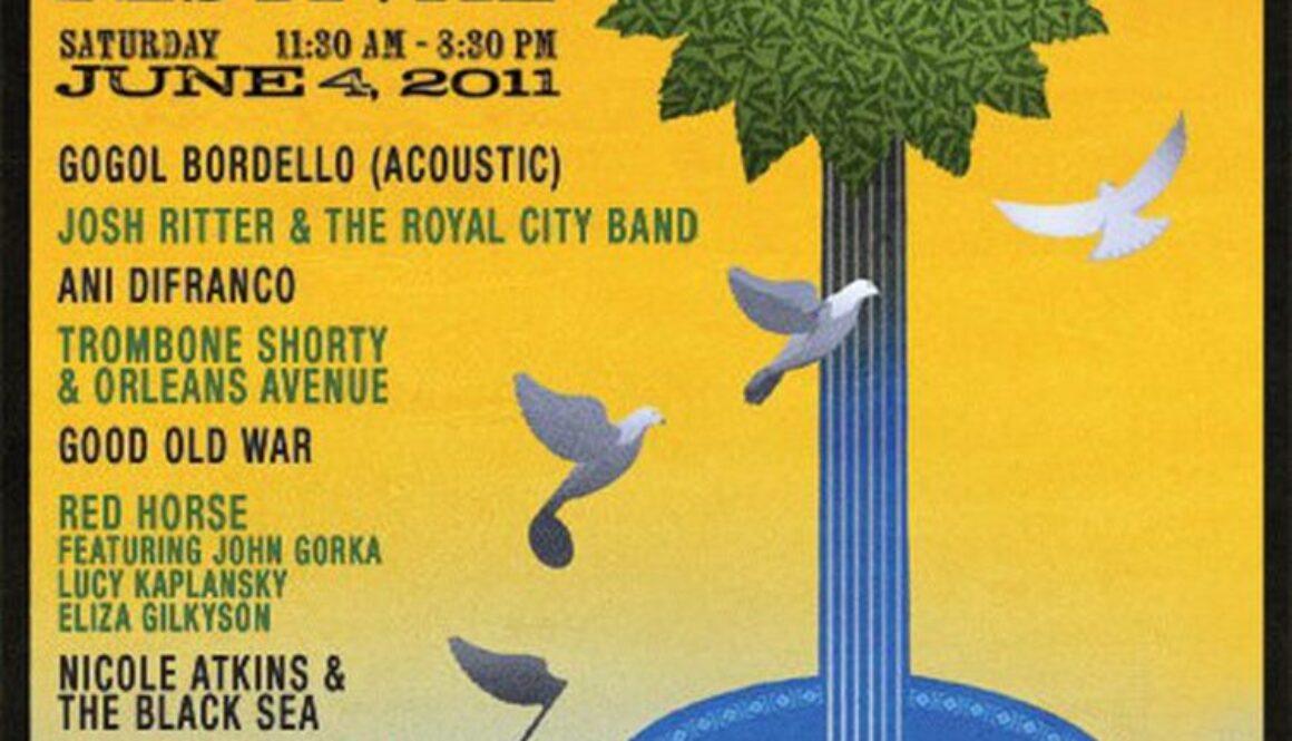 appel farm arts music festival 2011 poster