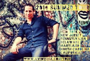 Avi Wisnia Summer Tour 2014