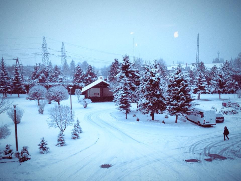 Winter Warsaw Land II