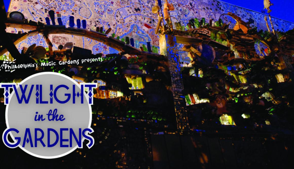 Twilight in the Gardens logo image