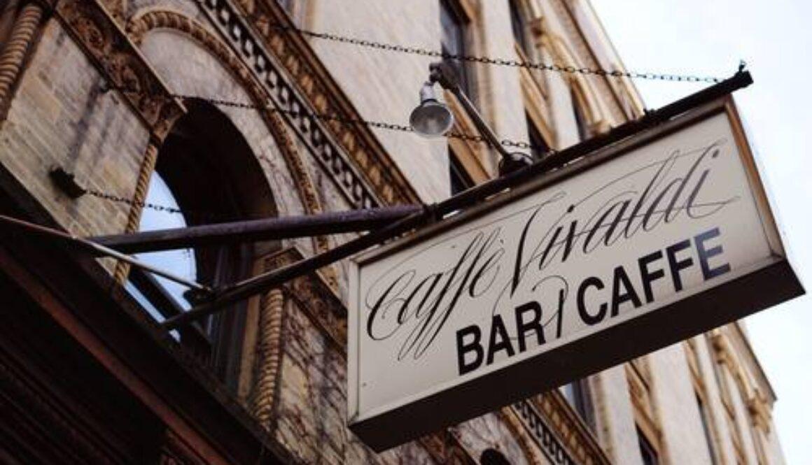 CaffeVivaldi sign