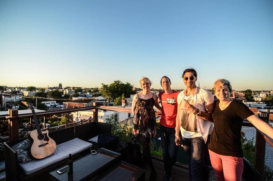 Backstage at SoFar Sounds, Philadelphia