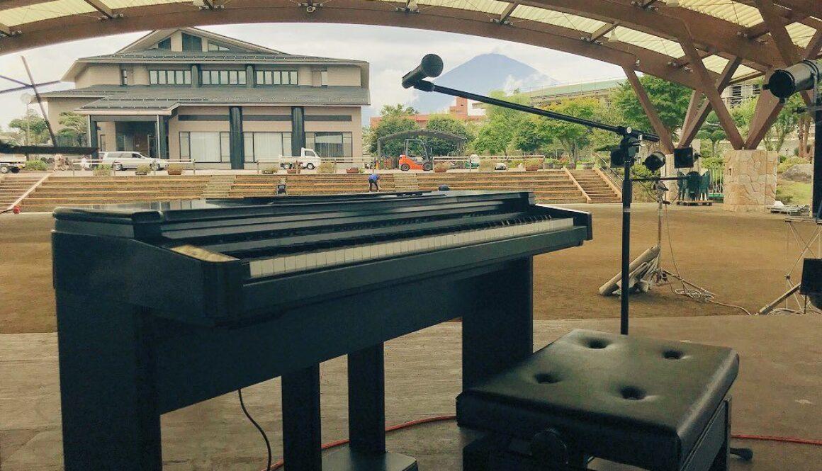 Soundcheck at Mt Fuji, Gotemba