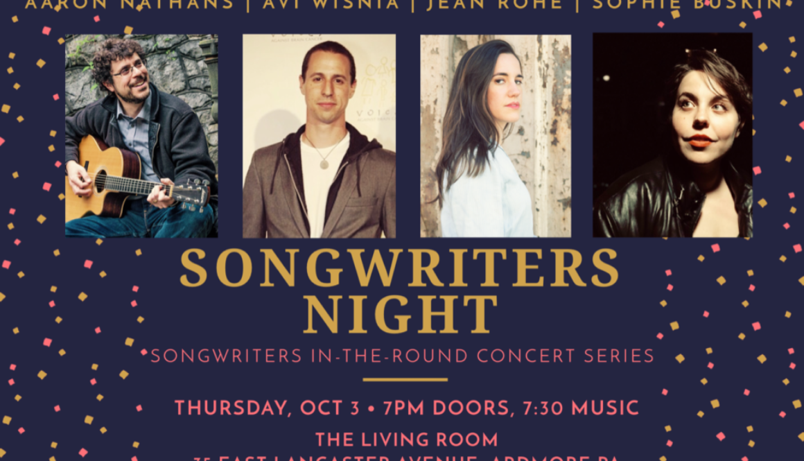 Oct2019 Songwriters Night at Living Room image