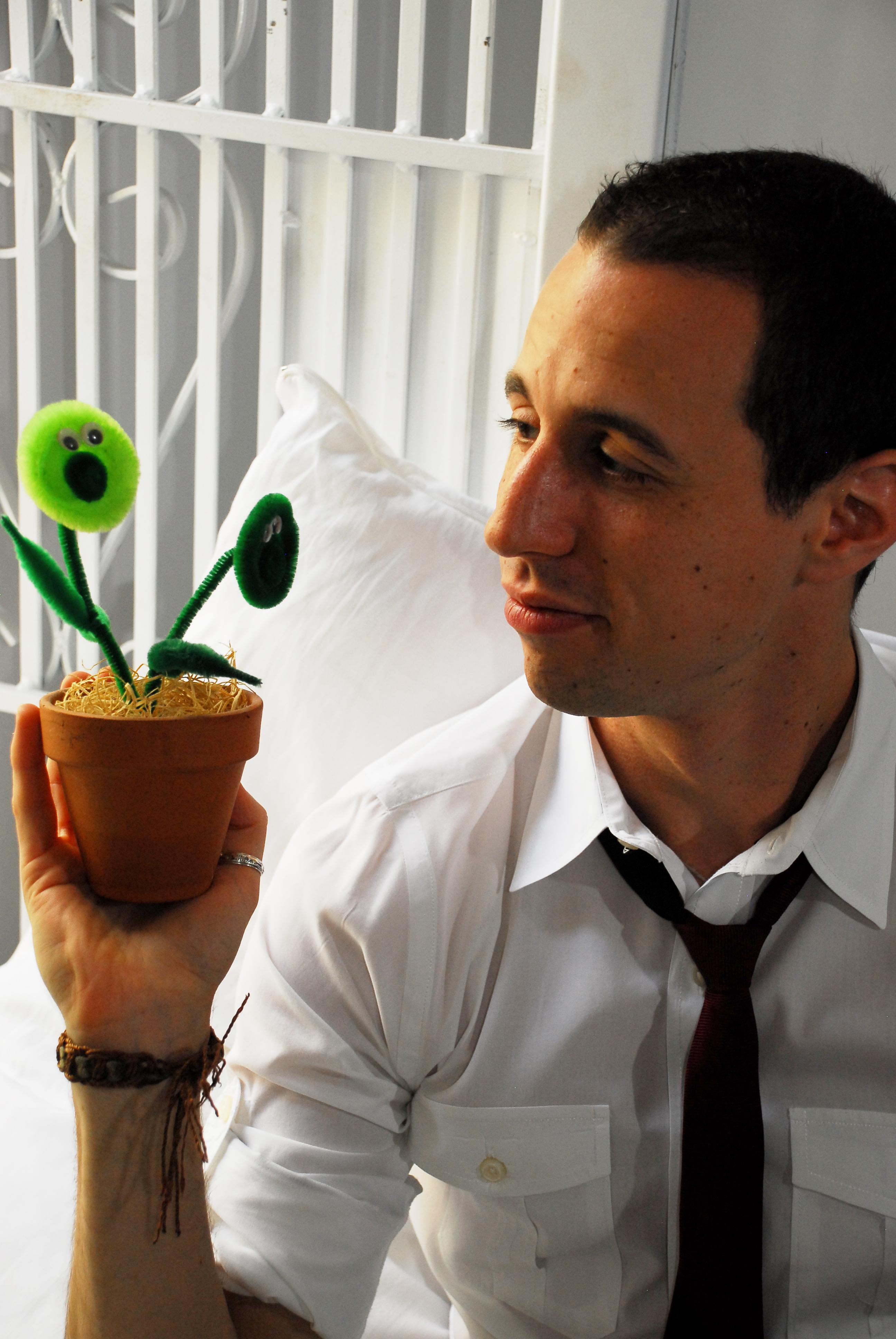 Avi Wisnia Flower Friends New York City NYC Rachel Dobkins Photography Promo Photo Portrait