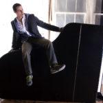 Avi Wisnia Piano Slide Beethoven Pianos New York City NYC Thomas Hitchock Photography Promo Photo Portrait