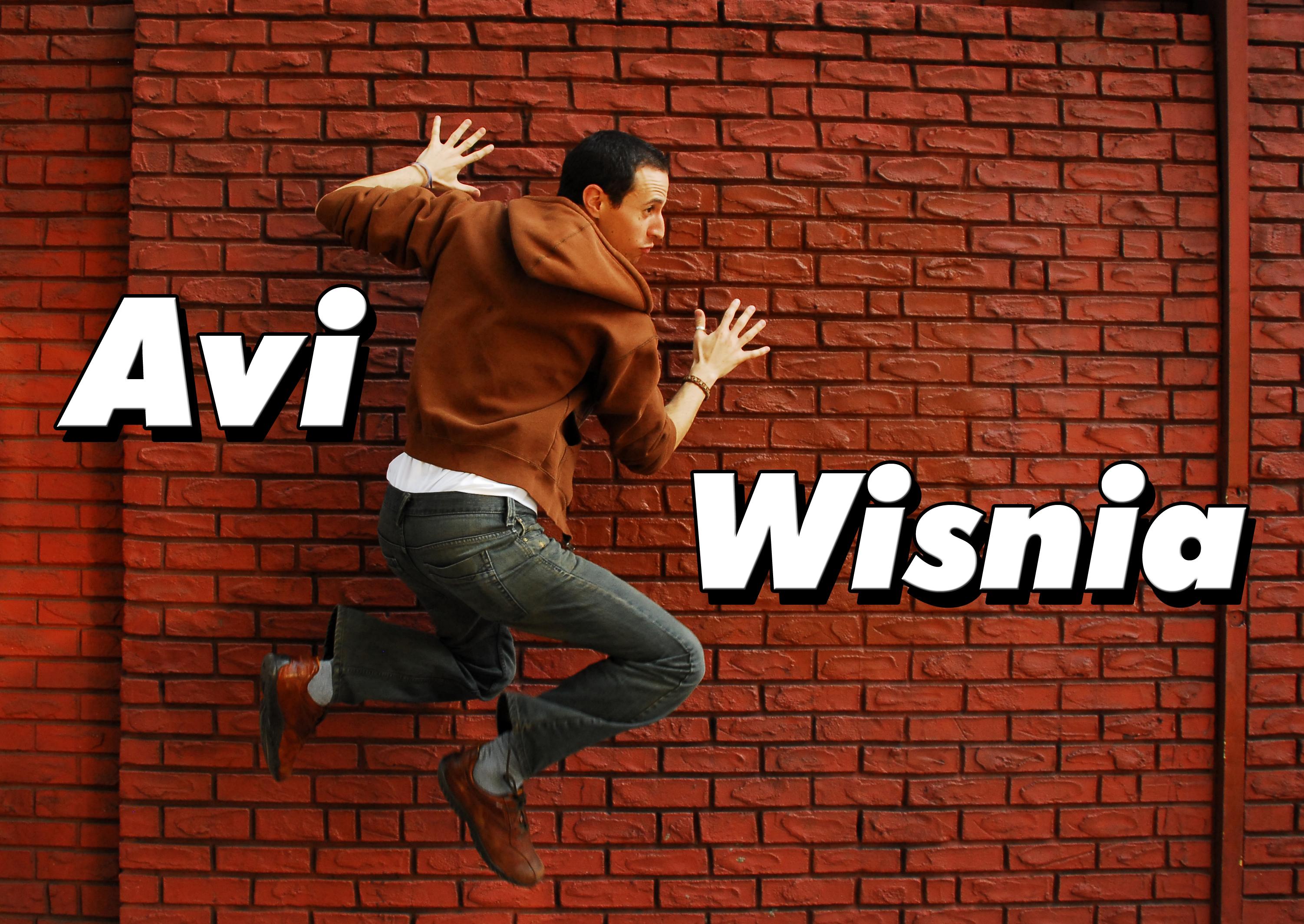 Avi Wisnia Red Wall Name Title New York NYC Rachel Dobkins Photography Promo Photo Portrait