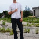 Avi Wisnia Philly Skyline Philadelphia PA Chris M Junior Photography Promo Photo Portrait