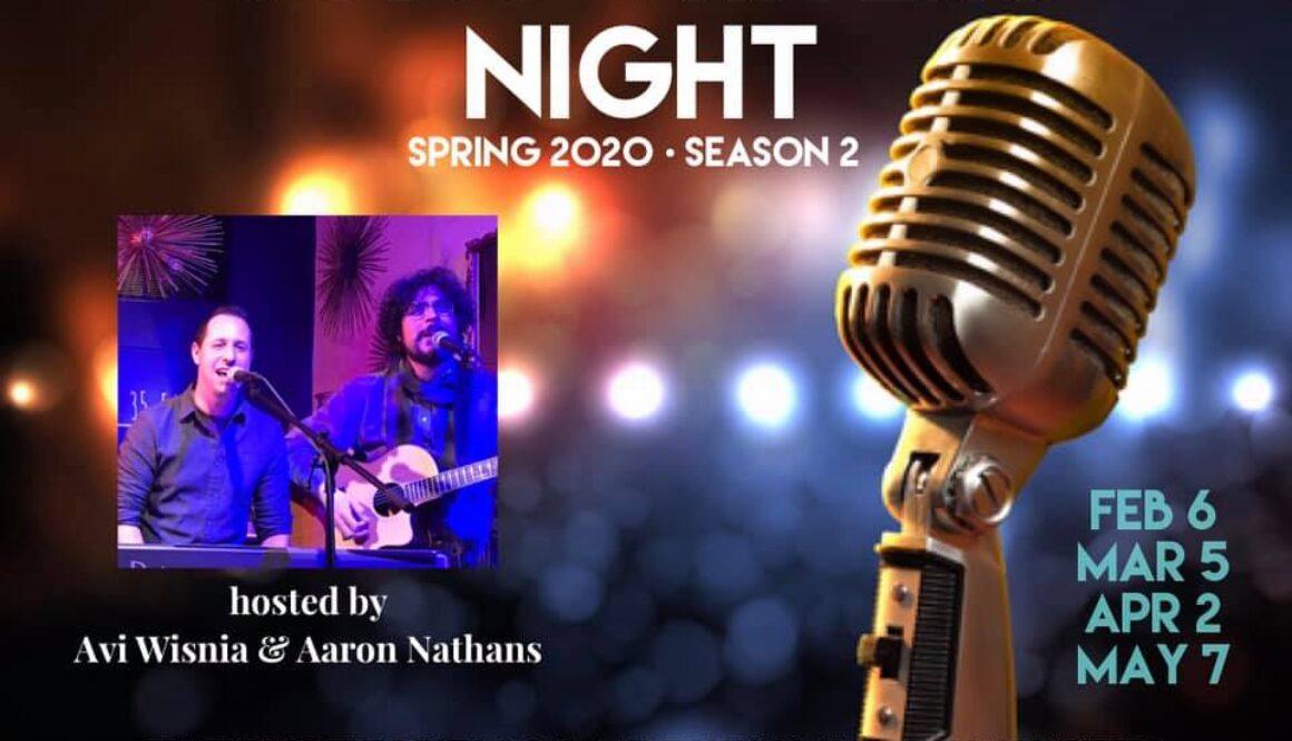 Songwriters Night Season 2 Spring 2020