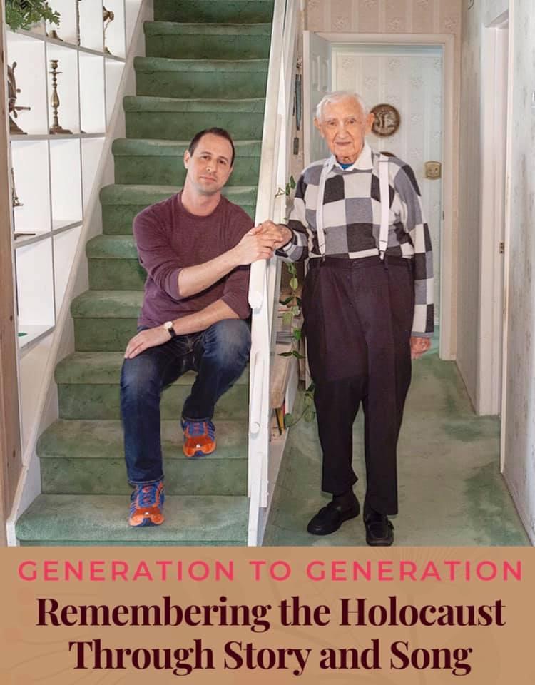 Remembering the Holocaust Avi & David image