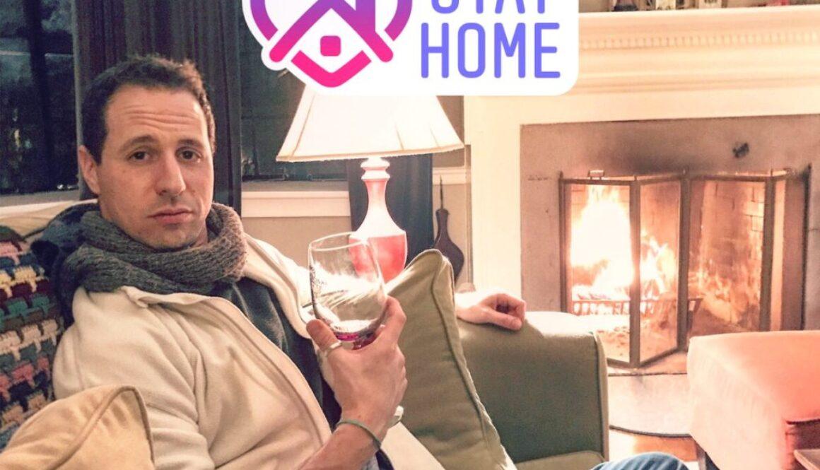 Stay Home Avi Wisnia CoronaVirus cozy at home