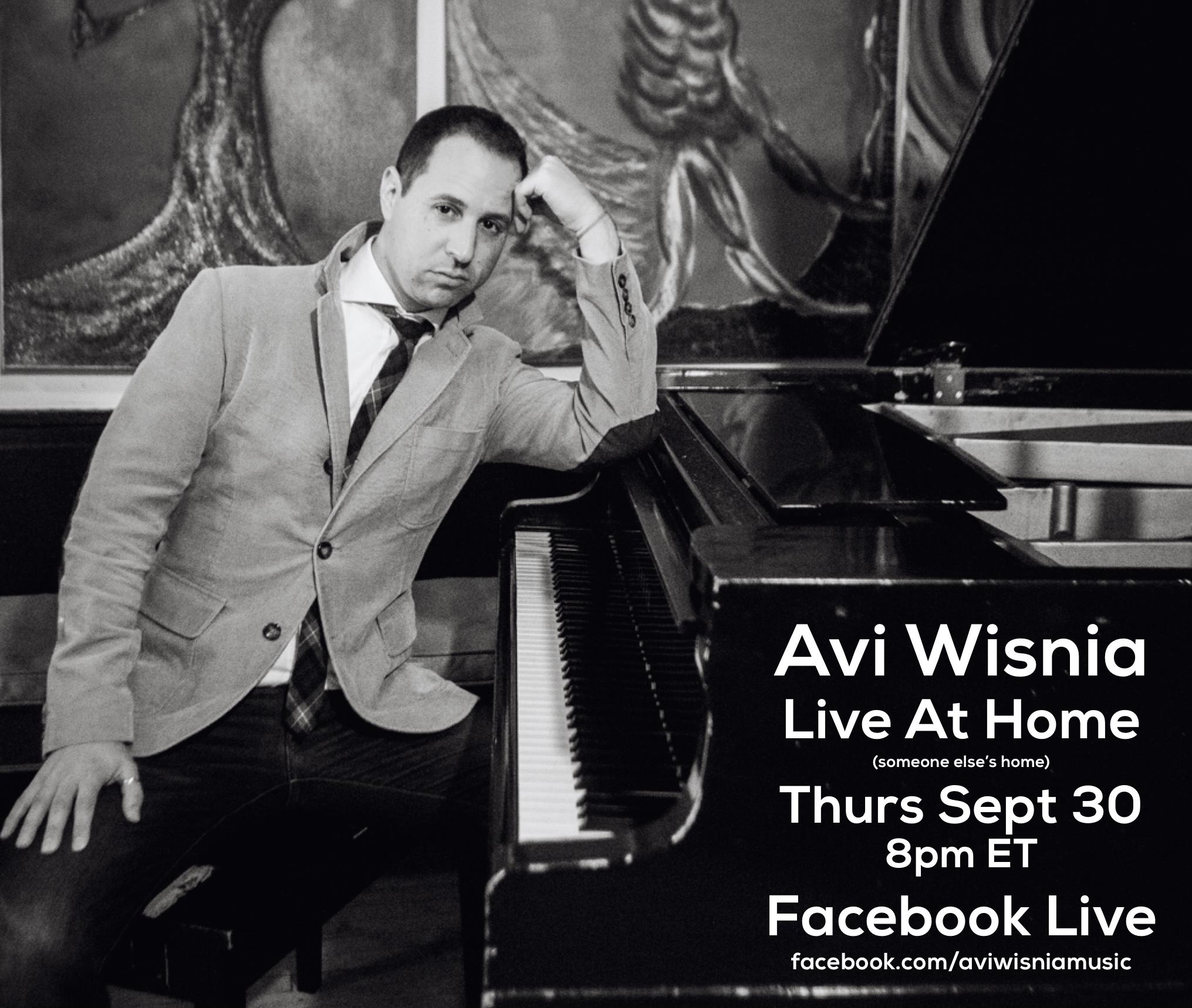 Avi Sept2021 FB Live At Home promo 1